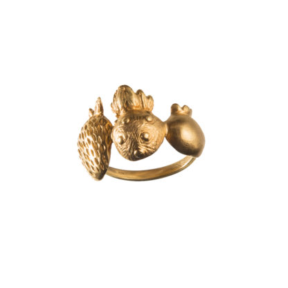 Ring SCANDINAVIAN FOREST*MixGold-0