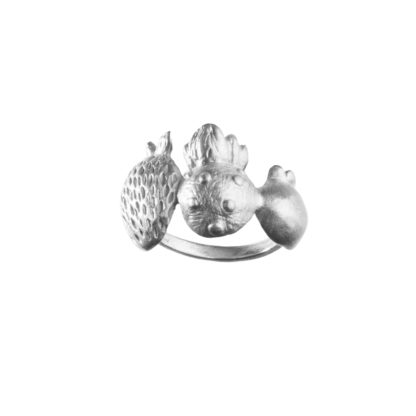 Ring SCANDINAVIAN FOREST*MixSilver-348