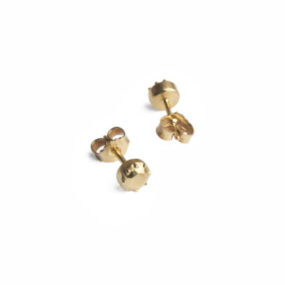 Earrings Stones*Gold-0