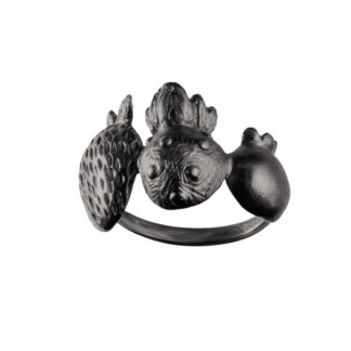 Ring SCANDINAVIAN FOREST*MixBlack-0