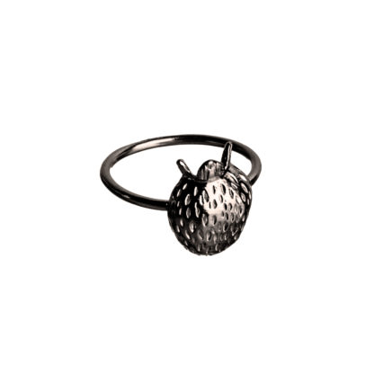 Ring SCANDINAVIAN FOREST*JordgubbarBlack-447