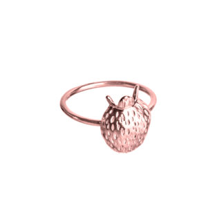 Ring SCANDINAVIAN FOREST*JordgubbarRose-429