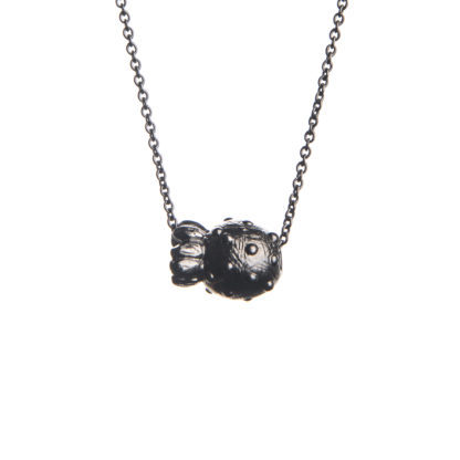 Necklace SCANDINAVIAN FOREST *SmultronBlack-0