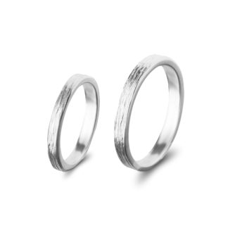 Wedding rings WOOD*White-0